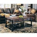 Hooker Furniture Preston Ridge Coffee Table w/ Storage Wood in Black/Brown, Size 20.0 H x 52.0 W x 30.0 D in   Wayfair 864-80-110