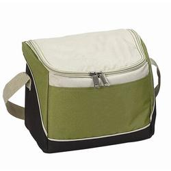 Preferred Nation 6 Can Recycled Pet Cooler in Green, Size 7.0 H x 8.5 W x 6.0 D in   Wayfair 2520A-Olive