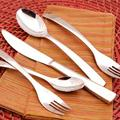 Gourmet Settings Symphony 20 Piece 18/10 Stainless Steel Flatware Set, Service for 4 Stainless Steel in Gray | Wayfair 29-898
