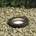 Kichler Hardwired Well Light Metal in Brown, Size 8.25 H x 7.0 W x 7.0 D in   Wayfair 15268AZ