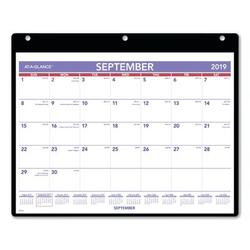 At-A-Glance Academic Monthly Desk Pad Calendar in White, Size 11.0 W x 8.5 D in | Wayfair AAGSK700