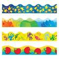 "TREND enterprises, Inc. School Basics Terrific Trimmers® Variety Pack in Blue/Yellow/Green, Size 0.5"" L x 3"" W x 42"" H | Wayfair T-92911"