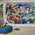 "Room Mates Extra Large Murals Toy Story 3 10.5' x 72"" Wall Mural, Paper in Blue/Black, Size 72""H X 126""W 