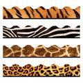 "TREND enterprises, Inc. Animal Prints Contains Classroom Border in Brown, Size 0.5"" L x 3"" W x 42"" H | Wayfair T-92917"
