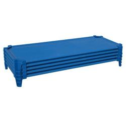 Wood Designs Stackable Assembled Cot in Blue, Size 23.0 W x 40.0 D in | Wayfair 87844