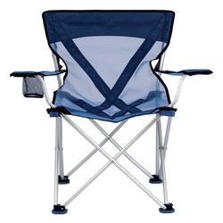 Travel Chair Teddy Folding Camping Chair Metal in Blue, Size 31.0 H x 20.5 W x 21.0 D in   Wayfair 579VB