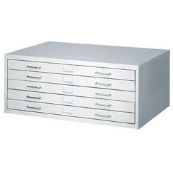 Safco Products Company Small Facil Flat File Filing Cabinet in Gray, Size 16.5 H x 40.25 W x 26.0 D in | Wayfair 4969LG