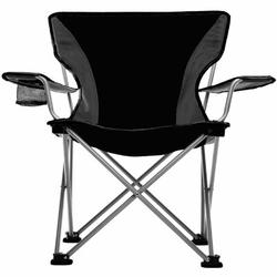 Travel Chair Easy Folding Camping Chair Metal in Black, Size 33.0 H x 20.5 W x 25.0 D in   Wayfair 589VBK