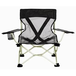 Travel Chair Folding Camping Chair Metal in Black, Size 30.0 H x 20.0 W x 21.0 D in   Wayfair 2279VBK