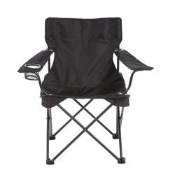 Travel Chair C-Series Folding Camping Chair Metal in Black, Size 31.0 H x 20.5 W x 21.0 D in | Wayfair 589CBK