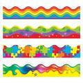 "TREND enterprises, Inc. Color Blast Contains Classroom Border in Red/Blue/Green, Size 0.5"" L x 3"" W x 42"" H | Wayfair T-92916"