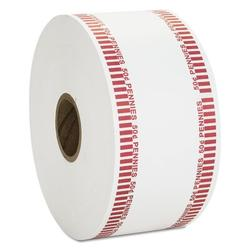MMF Industries Automatic Coin Flat Wrapper Rolls, Pennie, 1900 Wrappers/Roll in Red, Size 3.8 H x 8.0 W x 8.0 D in | Wayfair CTX50001