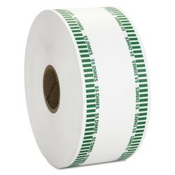 MMF Industries Automatic Coin Flat Wrapper Rolls, Dimes, 1900 Wrappers/Roll in Green, Size 3.8 H x 8.0 W x 8.0 D in | Wayfair CTX50010