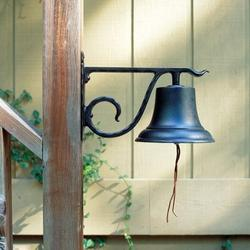 Whitehall Products Country BellMetal, Size 13.0 H x 8.0 W in | Wayfair 00604