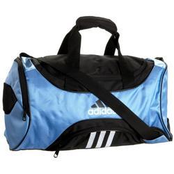 adidas 5122629 Striker Duffel Small,Collegiate Light Blue/Black,One Size