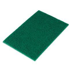 """Update SP-69HD Heavy-Duty Scouring Pad - 6 x 9"""" Green"""
