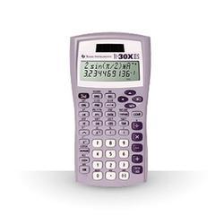 Texas Instruments TI-30X IIS 2-Line Scientific Calculator, Lavender