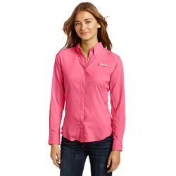 Columbia Women's PFG Tamiami II Long Sleeve Shirt , Pink Taffy, X-Large