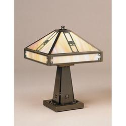 Arroyo Craftsman Pasadena 16 Inch Table Lamp - PTL-11O-F-RC