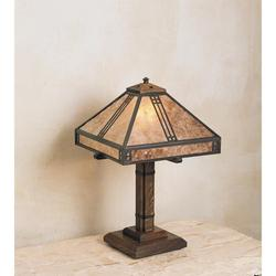 Arroyo Craftsman Prairie 18 Inch Table Lamp - PTL-12-CS-S