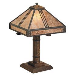 Arroyo Craftsman Prairie 18 Inch Table Lamp - PTL-12-M-MB