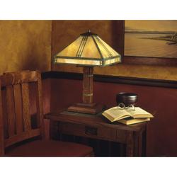 Arroyo Craftsman Prairie 23 Inch Table Lamp - PTL-15-RM-P