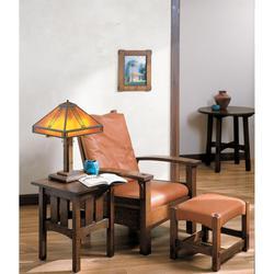 Arroyo Craftsman Prairie 23 Inch Table Lamp - PTL-15-TN-MB