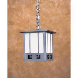 Arroyo Craftsman State Street 9 Inch Tall 1 Light Outdoor Hanging Lantern - SSH-8-GWC-RC