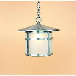 Arroyo Craftsman Berkeley 13 Inch Tall 1 Light Outdoor Hanging Lantern - BH-14-GW-RB