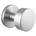 Emtek S300RNK Round Knob Set Reversible Non-Turning Two-Sided Dummy Door Knob Set from the Stainless