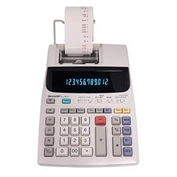 "Sharp EL-1801V Two-Color Printing Calculator 2.1 Lines/Sec 4"" Black/Red"