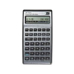 HP 17BII+ Financial Calculator, Silver
