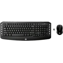 HP Wireless Classic Desktop Keyboard and Mouse (LV290AA#ABA),Black
