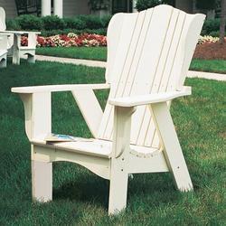 Uwharrie Chair Plantation Adirondack Chair in White, Size 47.0 H x 35.0 W x 36.0 D in   Wayfair 3011-014