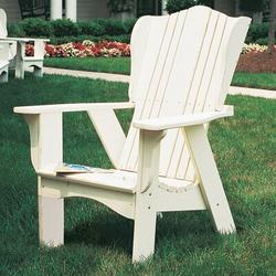 Uwharrie Chair Plantation Adirondack Chair in Blue, Size 47.0 H x 35.0 W x 36.0 D in | Wayfair 3011-031-Wash