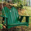 "Uwharrie Chair Original Porch Swing, Wood in Sunshine Yellow, Size 38""H X 50""W X 36""D 