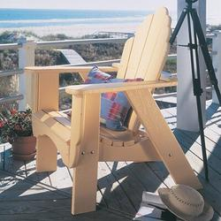 Uwharrie Chair Fanback Wood Adirondack Chair in Indigo, Size 45.0 H x 33.0 W x 36.0 D in | Wayfair 4011-044-Distressed