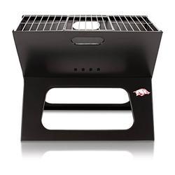 NCAA Arkansas Razorbacks Portable Charcoal X-Grill