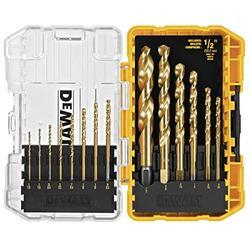 DEWALT DW1341 14-Piece Titanium Speed Tip Drill Bit Set
