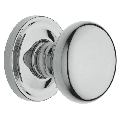 Baldwin 5015.PASS 5015 Series Passage Door Knob Set with Round Rose from the Estate Collection
