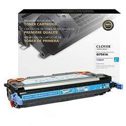 Clover Remanufactured Toner Cartridge for HP 314A Q7561A | Cyan
