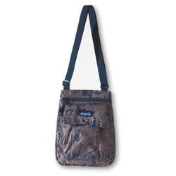 KAVU For Keeps Shoulder Bag, Blue Jungle, 8 1/2 X 11-Inch