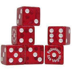 Trademark Poker Fabulous Las Vegas Dice, Set of 200
