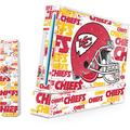 Skinit Decal Gaming Skin Compatible with Wii (Includes 1 Controller) - Officially Licensed NFL Kansas City Chiefs - Blast Design
