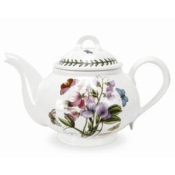 Portmeirion Botanic Garden 1.13-qt. Teapot Porcelain China/Ceramic in White | Wayfair 60750