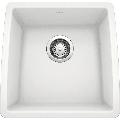 "Blanco 440081 Performa 17-1/2"" Undermount Single Basin SILGRANIT Kitchen Bar Sink White"