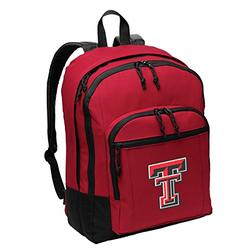 Texas Tech Backpack MEDIUM CLASSIC Style With Laptop Sleeve