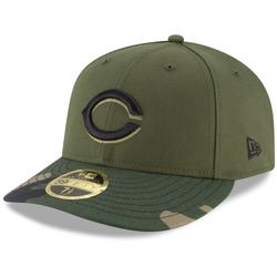 """""""Men's New Era Olive Cincinnati Reds Alternate 2 Authentic Collection On-Field Low Profile 59FIFTY Fitted Hat"""""""