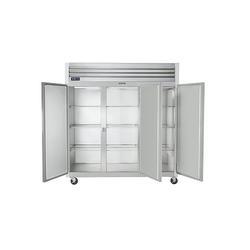 "Traulsen G30000 76"" Three Section Reach-In Refrigerator, (6) Solid Doors, 115v"