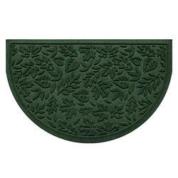 Water & Dirt Shield Fall Day Half-round Door Mat - Bluestone - Frontgate